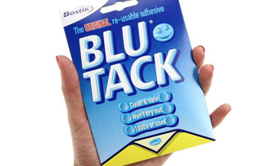 Free Packs of Bostik Blu Tack