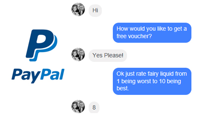 Free Paypal Cash For Chatting on Messenger