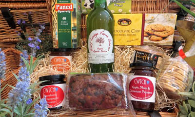 Free Welsh Food Hampers from Visit Wales