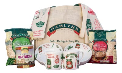 Win a Mackie's Hamper & Hamlyns Perfect Porridge Pack