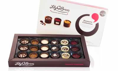 Free Boxes of Lily O'Brien's Chocolate Desserts Collection