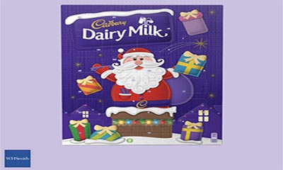 Free Cadbury Dairy Milk Advent Calendar