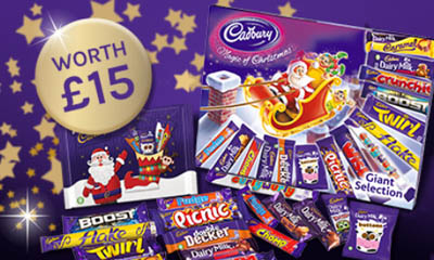 Free Cadbury Giant Selection Boxes
