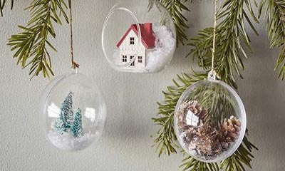 Free Christmas Decorations from Hobbycraft