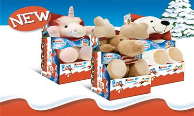 Free Kinder Cuddly Toy