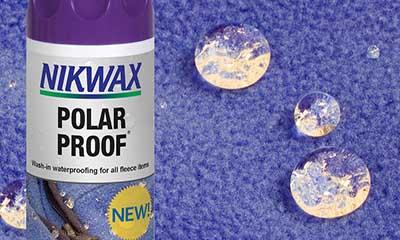 Free Nikwax Polar Proof Fleece Protector