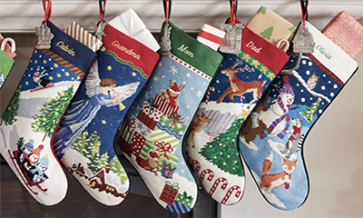 Free Personalised Christmas Stocking