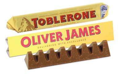 Free Personalised Toblerone