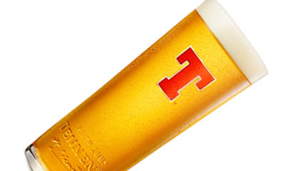 Free Tennent's Personalised Pint Glasses – 4,000 available!