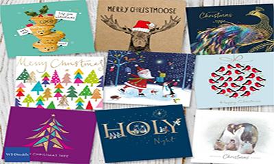 Free WHSmith Christmas Cards Box