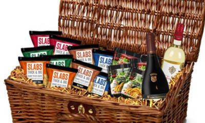 Win Slabs Crisp & Snack Hamper