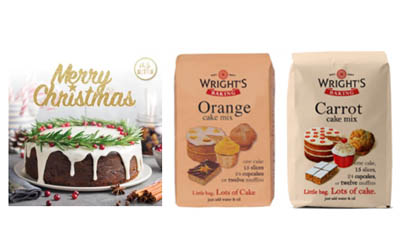 Win a Wright's Baking Orange & Carrot Cake Mix