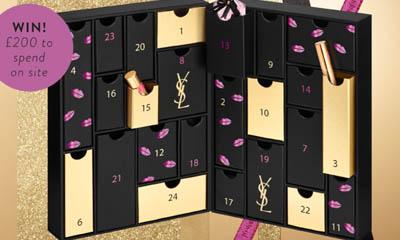 Win a YSL Beauty Advent Calendar