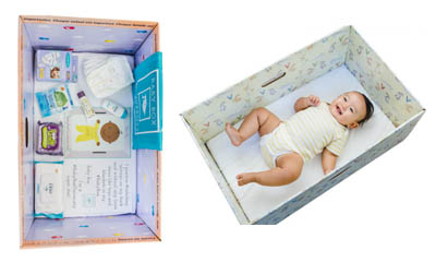 Free Baby Box with premium Baby Products