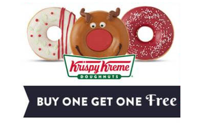 Krispy Kreme Buy One Get One Free