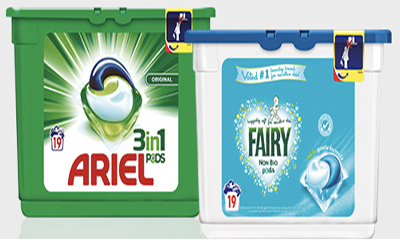 Free Ariel 3 In 1 Washing Pods