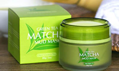 Free Matcha Mud Face Mask
