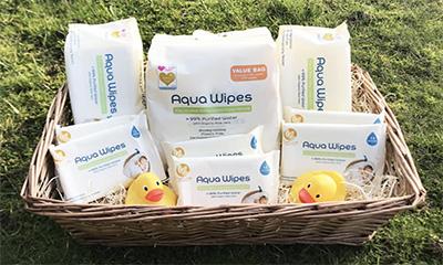 Free Aqua Wipes Baby Hamper