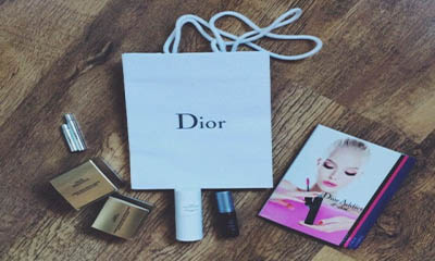 Free Dior Goodie Bag