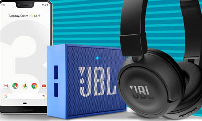 Win a Google Pixel 3 XL & JBL Audio Bundle