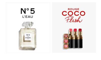 Free Chanel Perfume & Lipstick Set
