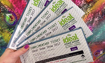 Free Ideal Home Show Tickets (Worth £14)