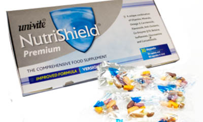 Free NutriShield Vitamin Pack