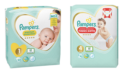 Free Pampers Premium Nappies