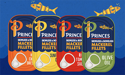 Free Princes Mackerel Cans