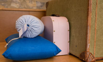 Win a Big Healthy Backpack Bag and Hippychick Travel Pillow