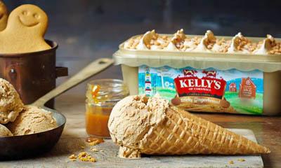 Free Kellys of Cornwall Ice Cream