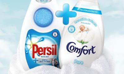 Free Persil Non Bio and Comfort Pure Liquid