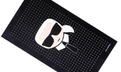 Free Karl Lagerfeld Towel