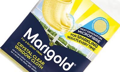 Free Marigold Crystal Clear Window Cloths