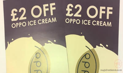 Free Oppo Ice Cream Vouchers