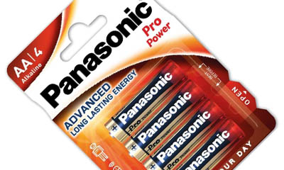 Free Panasonic Batteries