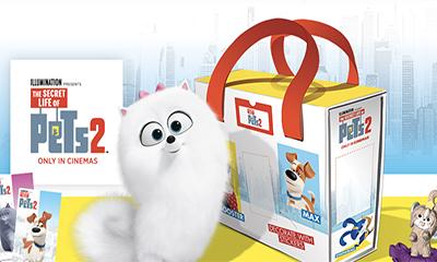 Free Pets 2 Toy Storage Case