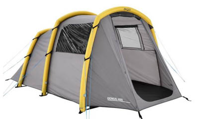 Win an Airgo Genus 400 Inflatable 4-man Tent