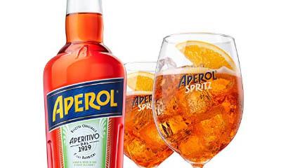 Free Aperol Spritz Drink