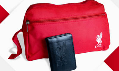 Free Card Wallet and Travel Bag bundle
