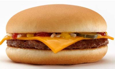 Free Cheese Burger from McDonald's