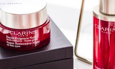Free Clarins Super Restorative Rose Radiance Cream