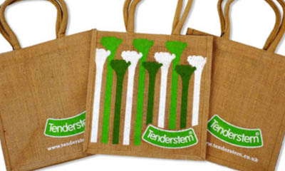 Free Hessian Tote Bag
