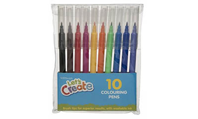 Free WHSmith Colouring Pens