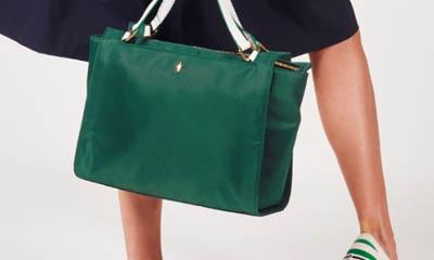 Win a Pauls Boutique Wimbledon Green Handbag