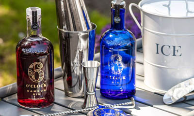 Win a Summer Cocktail Bundle from 6 O'clock Gin