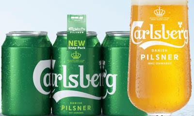 Free Carlsberg Beer Pack