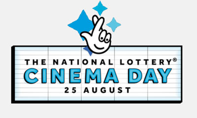 Free Cinema Tickets from The National Lottery