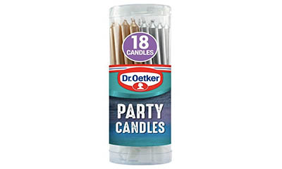Free Dr. Oetker Party Candles