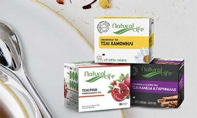 Free Herbal Fruit Teas